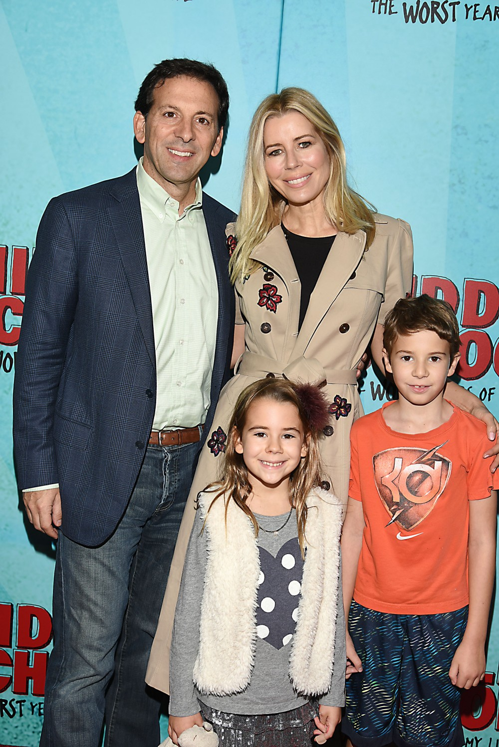 """Aviva Drescher, Reid Drescher and children attends the """"Middle School: The Worst Years of My Life"""" New York Screening on October 1, 2016 at the Regal E-Walk in New York, New York, USA.photo by Robin Platzer/Twin Images/Photoshot"""