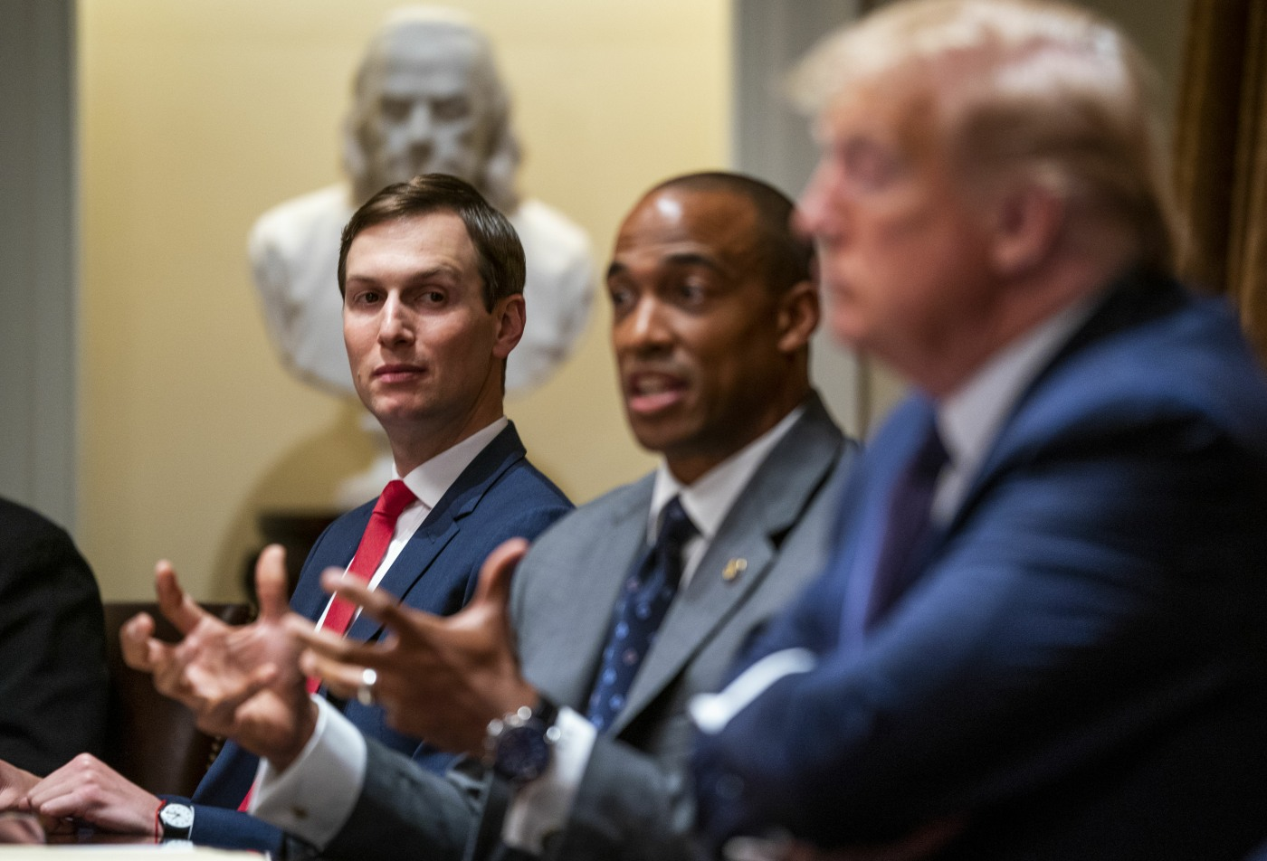 Trump makes Participates in a Meeting on Opportunity Zones