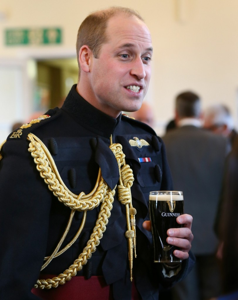 Irish Guards St Patrick's Day parade