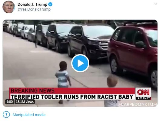 trump manipulated