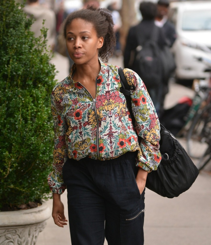 Nicole Beharie out and about in Manhattan
