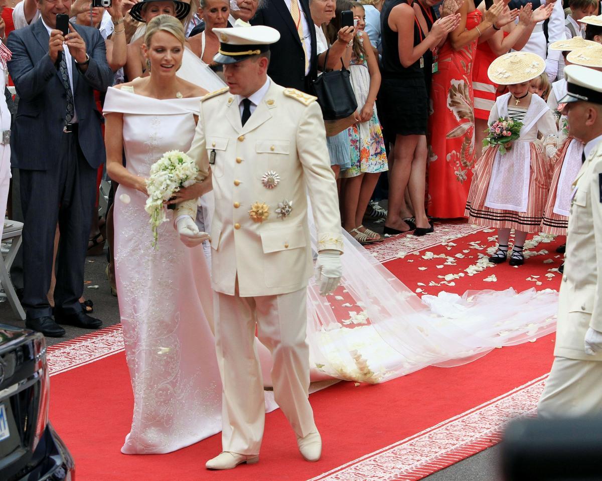 Prince Albert II of Monaco and Charlene Wittstock