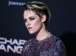Actress Kristen Stewart wearing Germanier arrives at the Los Angeles Premiere Of Columbia Pictures' 'Charlie's Angels' held at the Westwood Regency Theater on November 11, 2019 in Westwood, Los Angeles, California, United States.