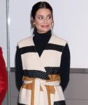 Lea Michele ad un'apparizione pubblica per L ...