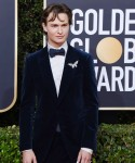 Ansel Elgort attends the 77th Annual Golden Globe Awards at The Beverly Hilton Hotel on January 05, 2020 in Beverly Hills, California© Jill Johnson/jpistudios.com