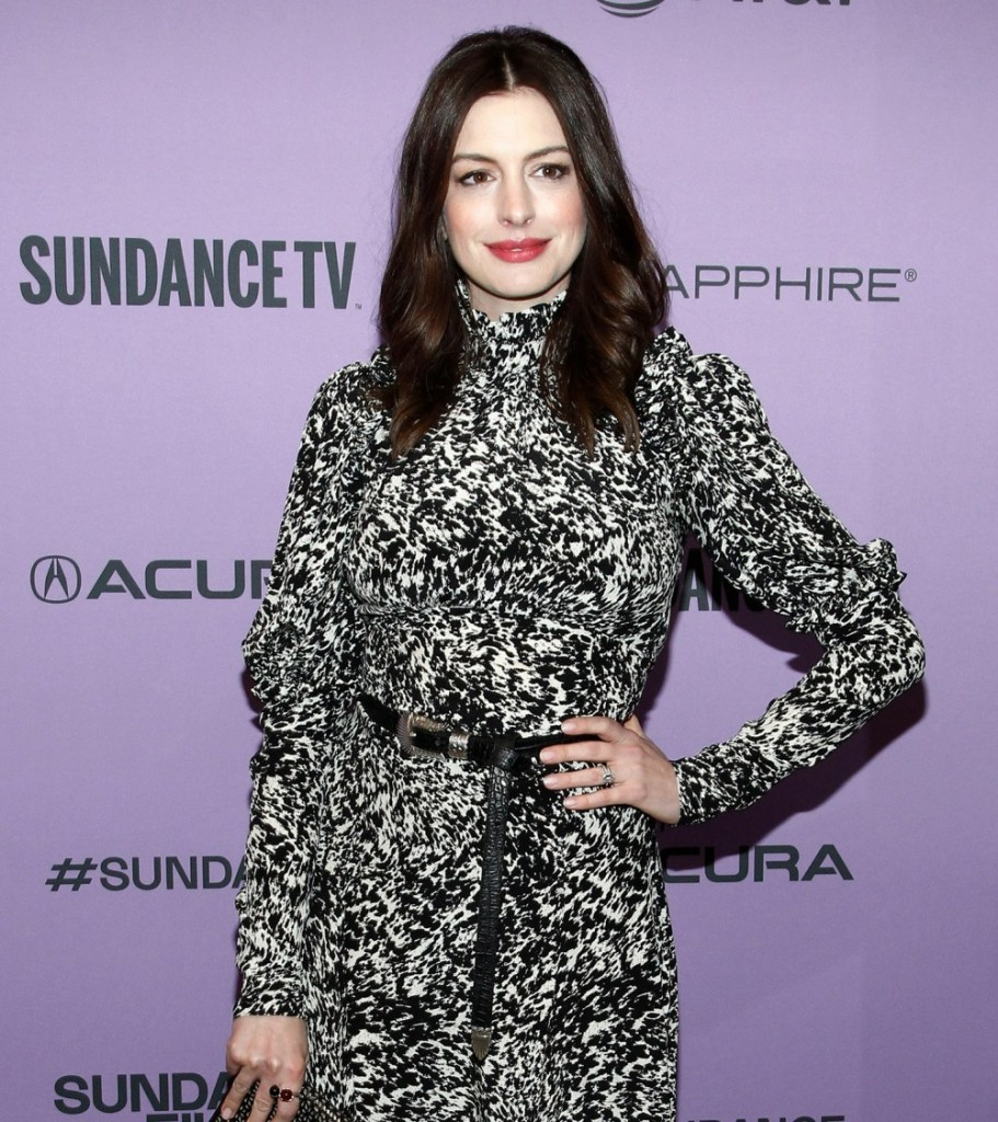 Anne Hathaway at arrivals for THE LAST T...