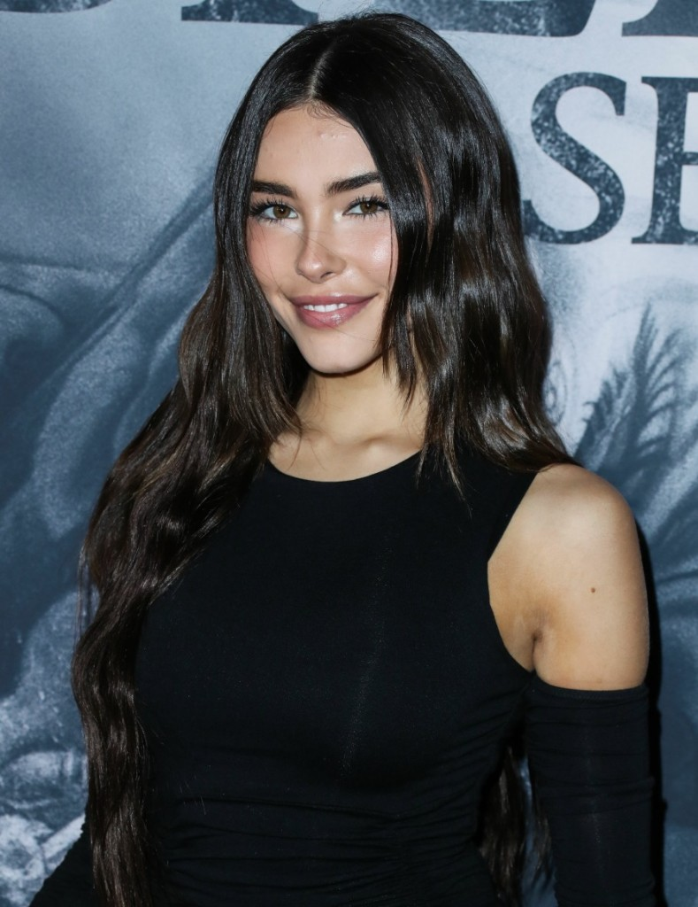 Singer Madison Beer arrives at the Los Angeles Premiere Of YouTube Originals' 'Justin Bieber: Seasons' held at the Regency Bruin Theatre on January 27, 2020 in Westwood, Los Angeles, California, United States.