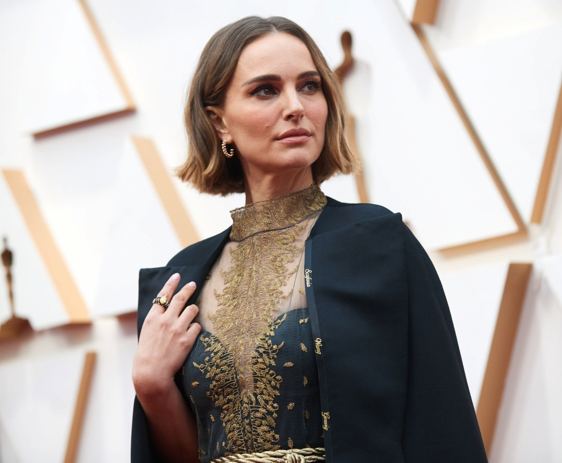 Natalie Portman arrives on the red carpet of The 92nd Oscars® at the Dolby® Theatre in Hollywo...