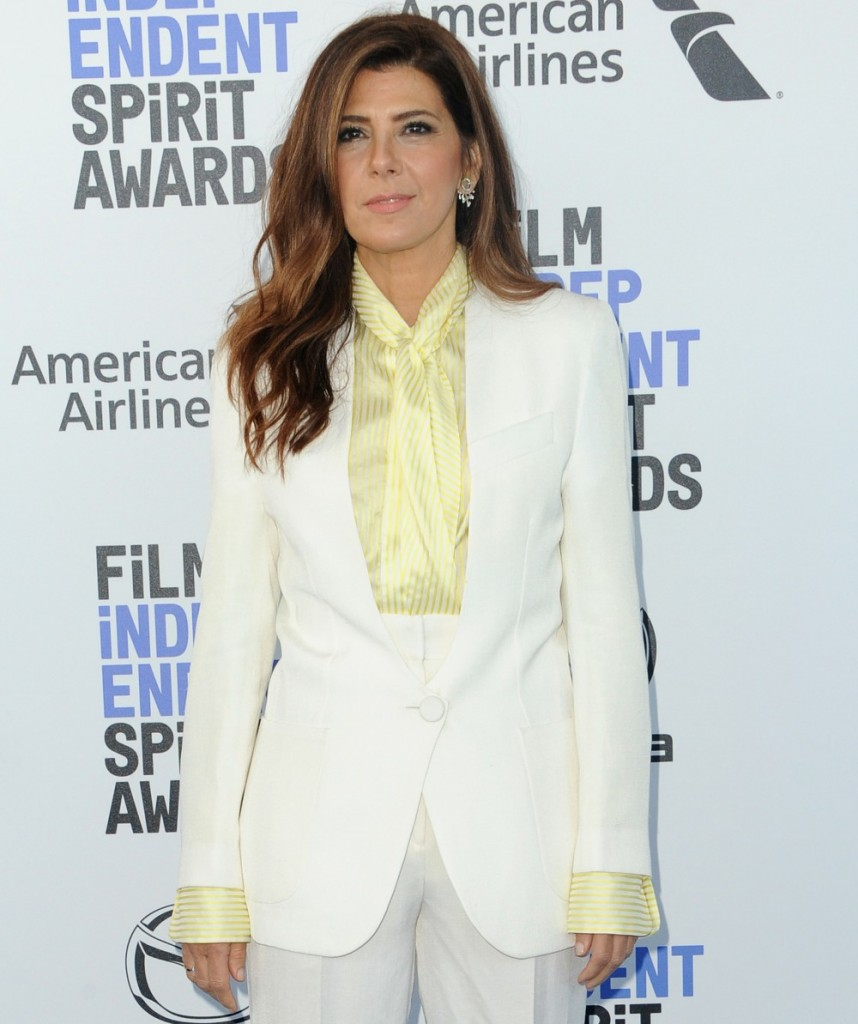 Marisa Tomei at the 35th Annual Film Independent Spirit Awards held at the Santa Monica Beach in Santa Monica, USA on February 8, 2020.