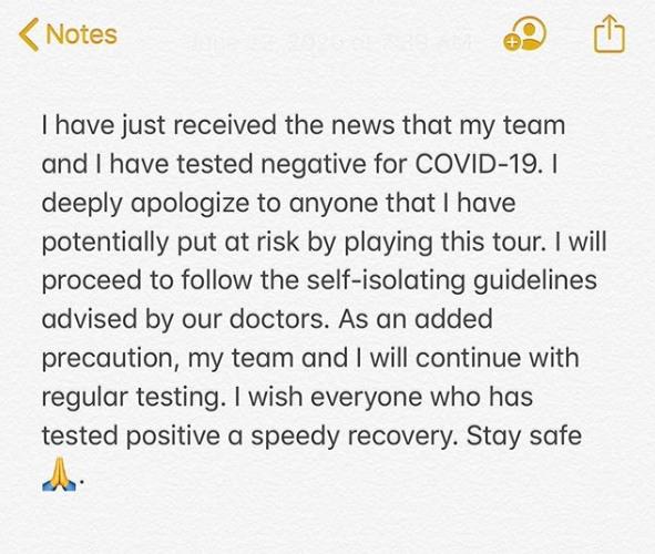 zverev apology