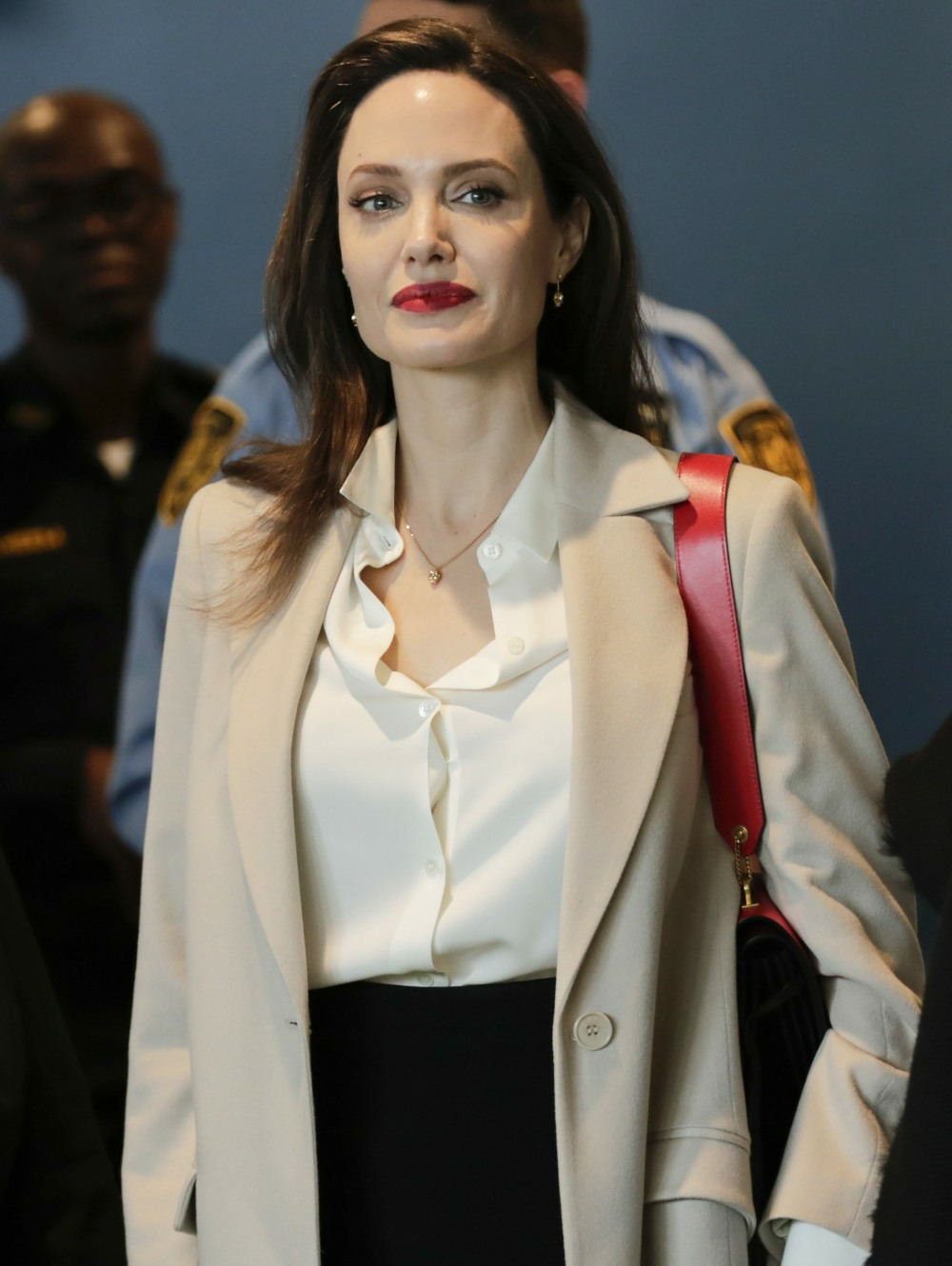 Angelina Jolie at UN for a Speech on Sexual Violence in Conflict