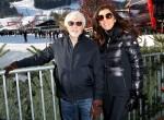Bernie Ecclestone + Frau Fabiana Flosi - Vips Super G - 80. Hahnenkamm Rennen - Kitzbuehel - 24.01.2020  (0) 02 7485 1005 email: pictures@famous.uk.com