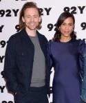 Tom Hiddleston, Zawe Ashton at arrivals...