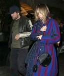 Robert Pattinson and Suki Waterhouse enjoy a rare night out at Chiltern Firehouse in London