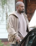 Paris Jackson attends church with Kanye West and the Kardashians in Calabasas