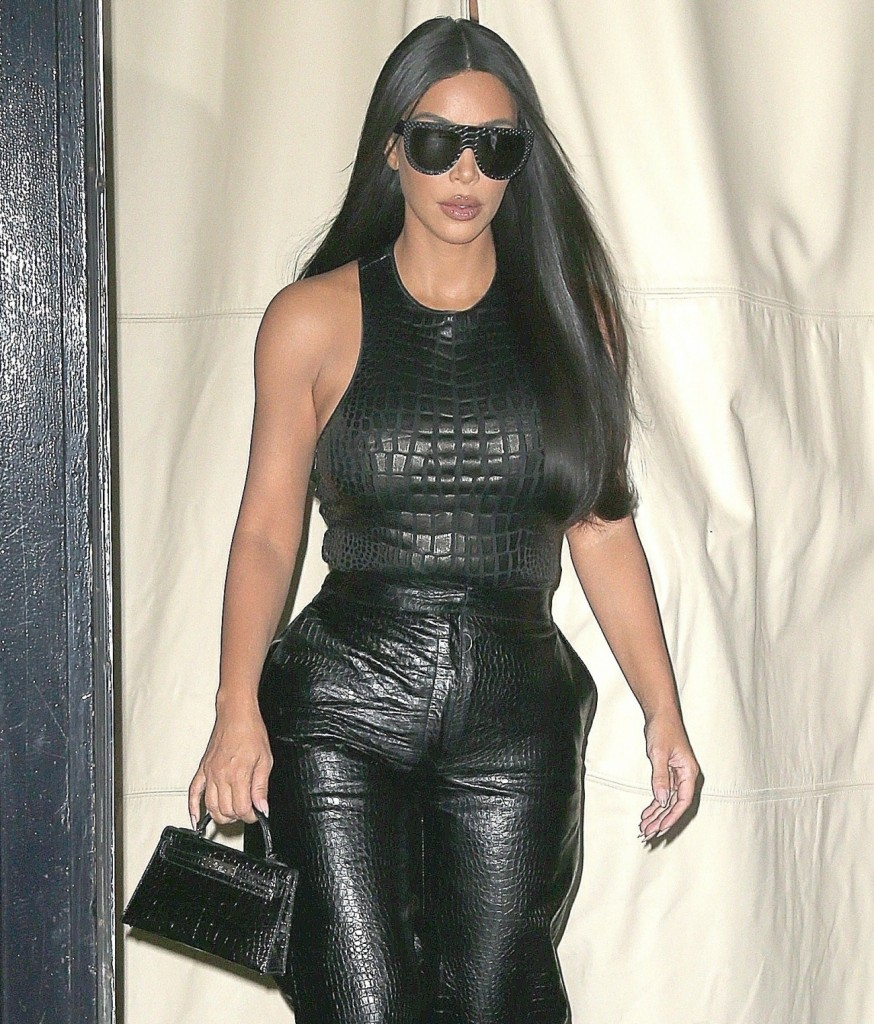 Kim Kardashian West is spotted out and about during NYFW!