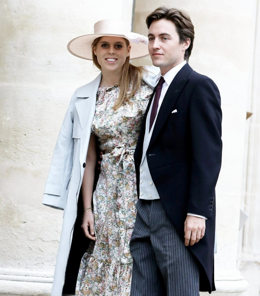 Prince Jean-Christophe Napoléon and Olympia d'Arco-Zinneberg are married