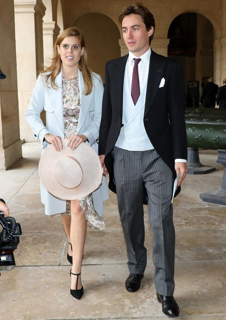 Princess Beatrice and  Edoardo Mapelli Mozzi's wedding may be postponed **FILE PHOTOS**