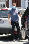 Ben Affleck out for lunch in Brentwood
