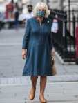 Camilla, the Duchess of Cornwall visits the National Gallery in London.