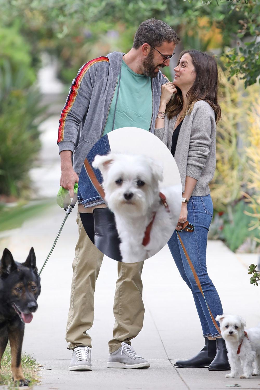 Ben Affleck and girlfriend Ana de Armas can't contain their joy!