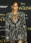 Beyonce agli arrivi per THE LION KING Pr ...