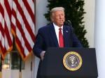 Il presidente Trump tiene una conferenza stampa alla Casa Bianca