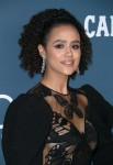 Nathalie Emmanuel attends  the 22nd Costume Designers Guild Awards in Los Angeles