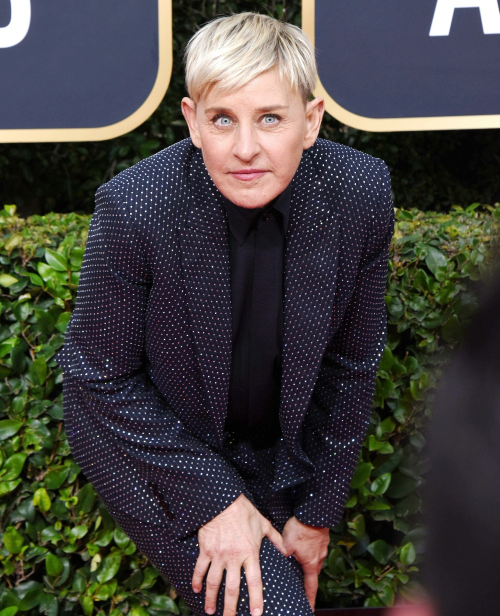 Ellen Degeneres attends the 77th Annual Golden Globe Awards at The Beverly Hilton Hotel on January 05, 2020 in Beverly Hills, California © Jill Johnson/jpistudios.com