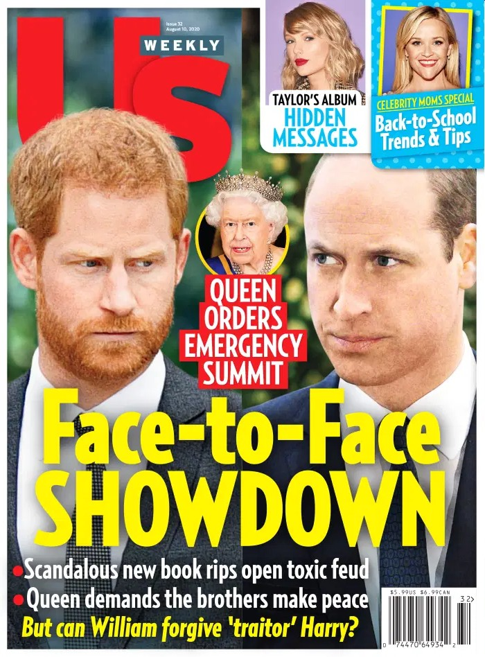 Prince William thinks Harry 'resents' him & that's why Harry is 'struggling'