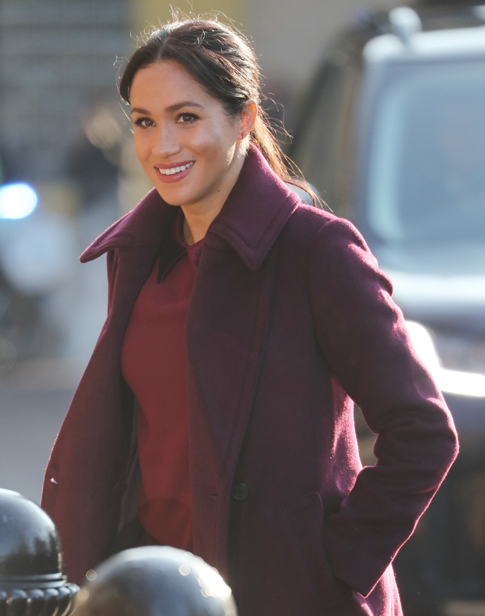 Meghan, Duchess of Sussex visits the Hubb Community Kitchen