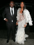 Arrivals and departures at attending the Vogue and Tiffany & Co Fashion and Film Party at Annabel's - London