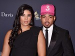 """Kirsten Corley and Chance the Rapper at the Pre-GRAMMY Gala and GRAMMY Salute to Industry Icons Honoring Sean """"Diddy"""" Combs"""