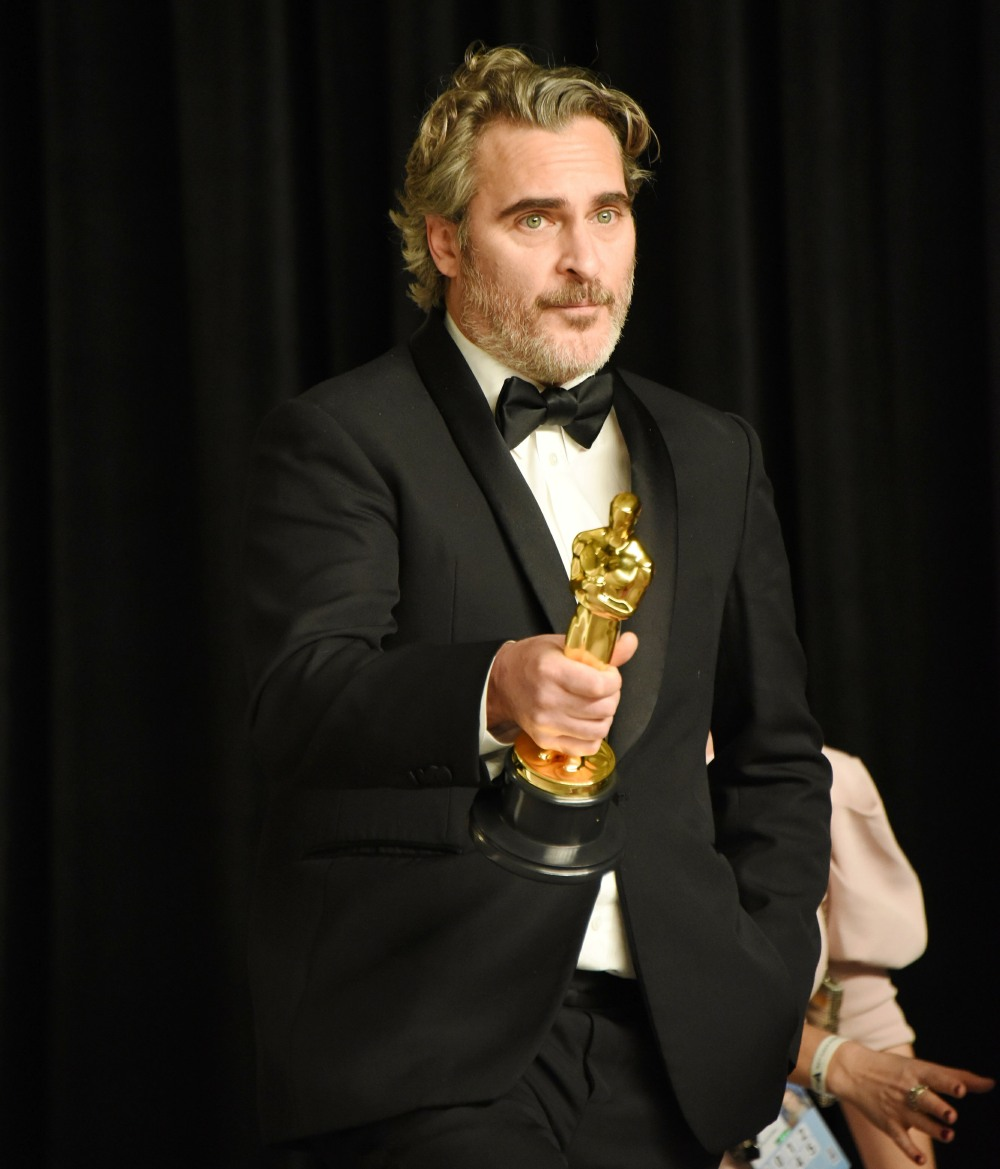 Joaquin Phoenix in the press room during the 92nd Annual Academy Awards at Hollywood and Highland on...