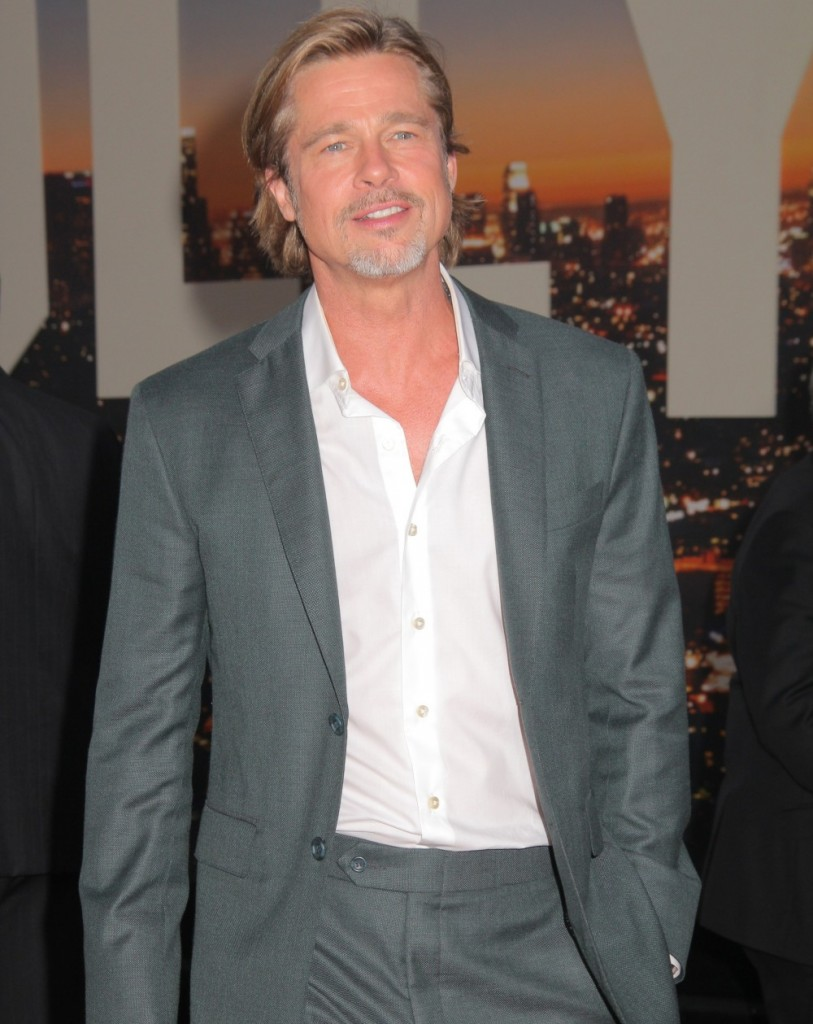 """Brad Pitt 07/22/2019 The Los Angeles Premiere of """"Once Upon A Time In Hollywood"""" held at the TCL Chinese Theatre in Los Angeles, CA. Photo by I. Hasegawa / HNW / PictureLux"""
