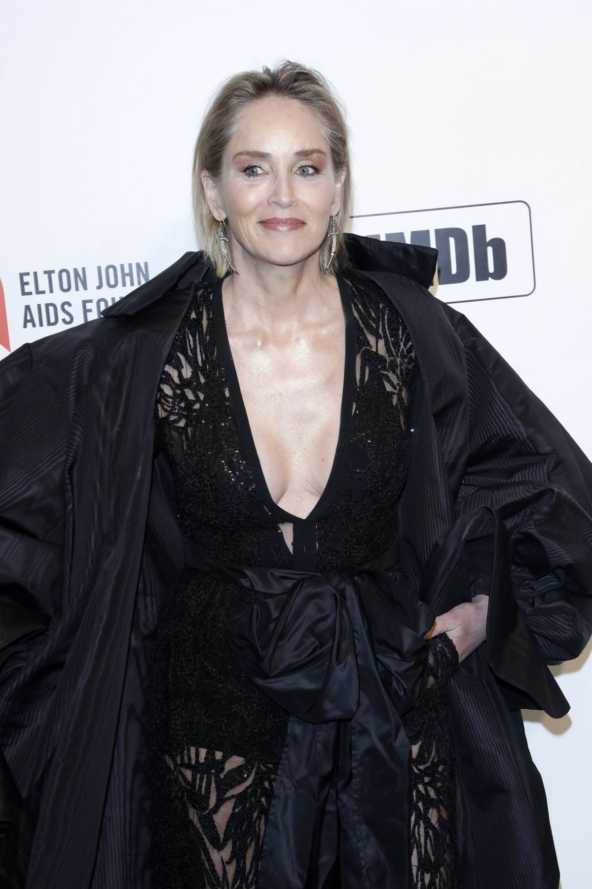 Sharon Stone at the after-party for Elto...