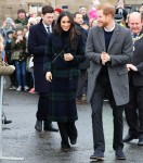 Prince Harry and Ms. Meghan Markle visit Edinburgh