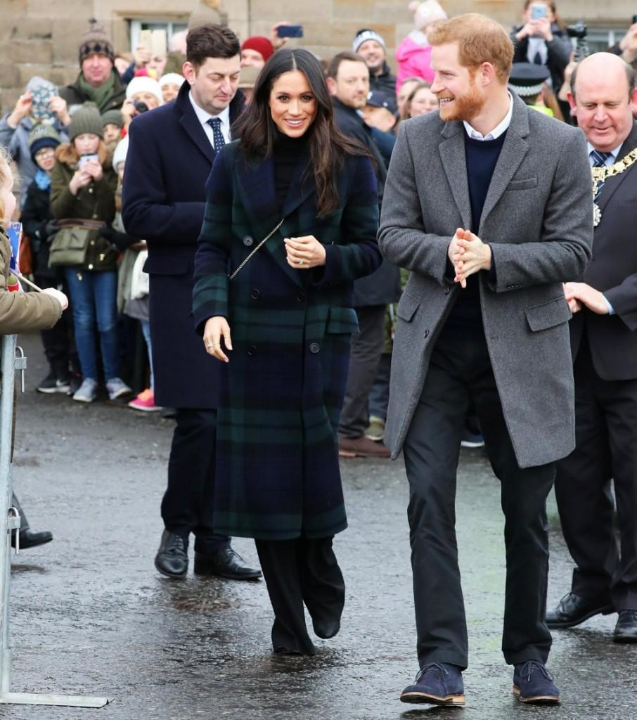 Prince Harry and Ms. Meghan Markle visit Edinburgh
