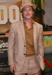 Brad Pitt looks extra suave in all-beige
