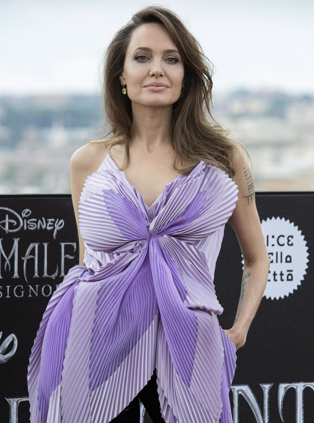 """Photocall of the movie """"Maleficent: Mistress of Evil"""" at the terrace of the Hotel de Ville"""