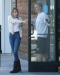 Miley Cyrus and Cody Simpson make a coffee run in Studio City