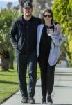 Chris Pratt and Katherine Schwarzenegger take an evening stroll