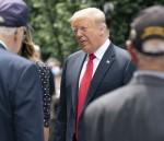 President Trump lays wreath at Korean War Memorial in DC
