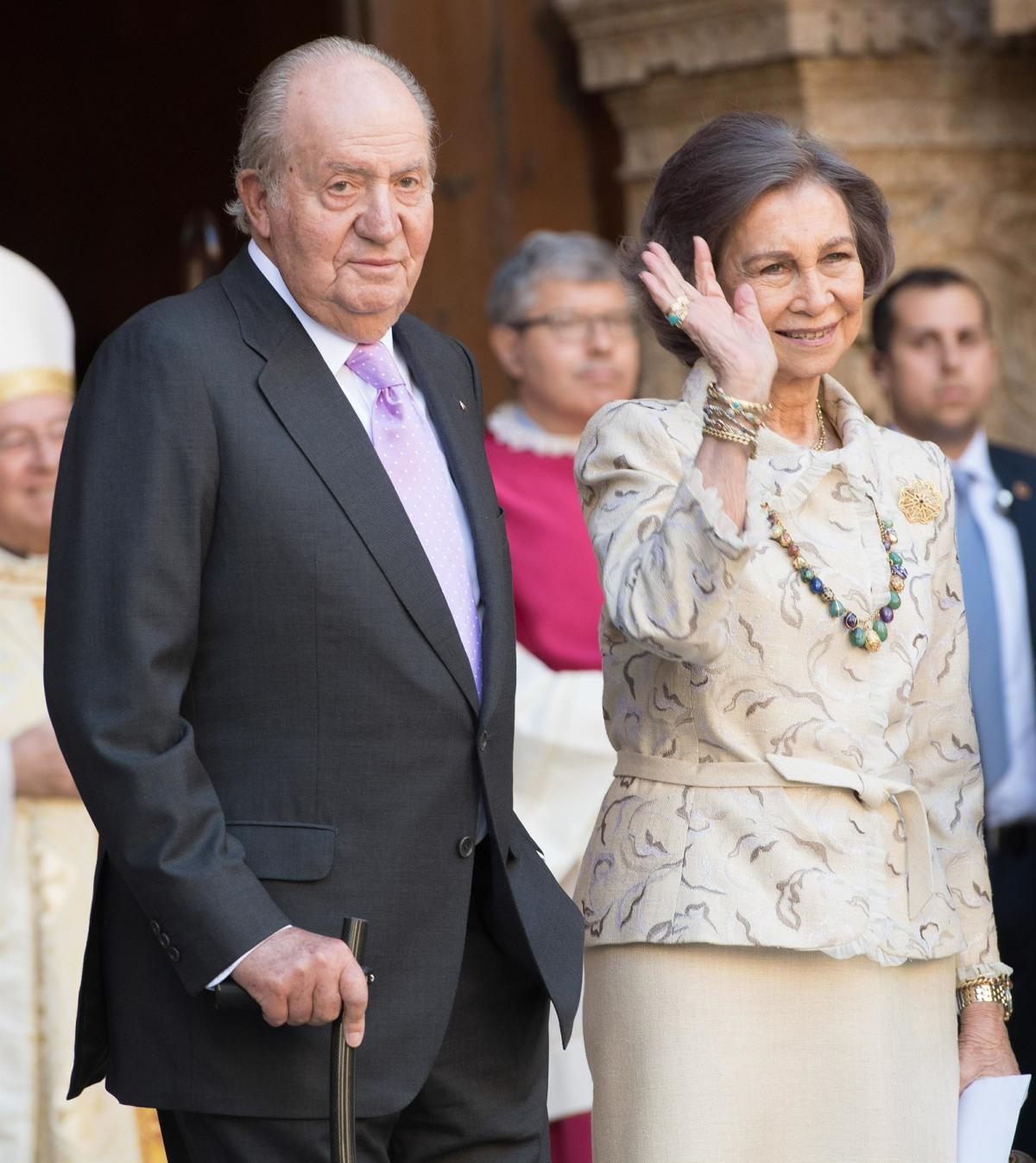 Former Spanish King Juan Carlos leaves Spain **FILE PHOTOS**