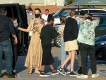 Angelina Jolie takes family to Nobu