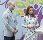 ROTATHE DUKE AND DUCHESS OF CAMBRIDGE VISIT SOUTH WALESWednesday 5th August, 2020The Duke and Duchess of Cambridge have today carried out engagements in South Wales. Their Royal Highnesses firstly visited Barry Island where they heard from local business owners about the impact of COVID-19 on the tourism sector, before travelling to Shire Hall Care Home in Cardiff where they spoke to staff, residents and their family members. Their Royal Highnesses' visit to Barry Island has come as businesses in Wales have started to reopen their doors to the public as lockdown measures have started to ease. The Duke and Duchess visited Island Leisure amusements arcade to meet the owners and staff members ahead of the arcade reopening to the public later in the day, before joining vendors from some of the other businesses based on Barry's promenade at Marco's Café. Their Royal Highnesses heard about the impact that closing has had on the businesses during a typically busy period for the seaside resort, which attracted 424,000 visitors in 2019, and the measures they have put in place to allow them to start reopening in a safe and secure manner.  The Duke and Duchess also visited the beach huts on the eastern end of the promenade which have been installed as part of the Vale of Glamorgan Council's £6m regeneration project in Barry. The project has also seen the restoration of the promenade and shelter, and the installation of new public art and entertainment spaces, a climbing wall and water feature.  Their Royal Highnesses then visited Shire Hall Care Home in Cardiff where they spoke to some of the home's staff, residents and their family members in the home's garden. In May, The Duke and Duchess joined staff and residents from Shire Hall via video call, and took their turn as guest bingo callers for a game in the home's cinema. Shire Hall provides residential, nursing and dementia care and is part of Hallmark Care Homes, a family-run care provider with 20 care homes across England and Wales. During today's visit, Their Royal Highnesses were able to meet some of the staff and residents from the call in person and heard how the home has continued to adapt in response to the pandemic. Staff spoke about the measures that have been put in place in order to allow the residents to safely receive visits from family members and friends. The Duke and Duchess then met a small number of residents and their family members who spoke about the challenges of being unable to visit their loved ones at the beginning of the lockdown, how they kept in touch, and the impact of now being able to visit the home.