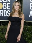 Jennifer Aniston attending the 77th Annual Golden Globe Awards at The Beverly Hilton Hotel on January 5, 2020 in Beverly Hills, California. | usage worldwide