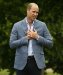 The Duke of Cambridge hosts an outdoor screening of the Heads Up FA Cup final on the Sandringham Estate. .   1.8.2020