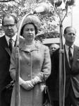 Queen Elizabeth II visits Koblenz, 1965