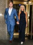 Christina El Moussa and boyfriend Ant Anstead leaving NBC Studios in NYC